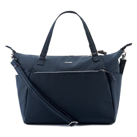 Bag Theft by Anti Theft Tote Bag Stylesafe In Navy