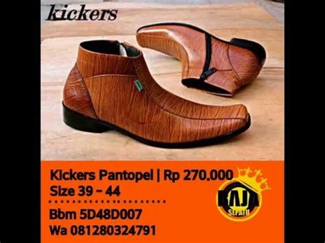 Sepatu Boots Pria Kickers Terbaru Murah 2 sepatu kickers boot murah dan terbaru 2014 www newsepat