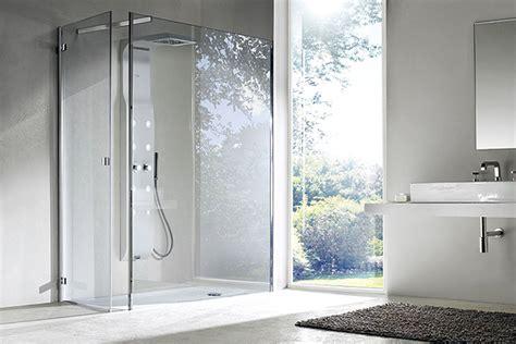 piatto doccia incassato nel pavimento cabine doccia hi tech quot enjoy quot arredobagno news