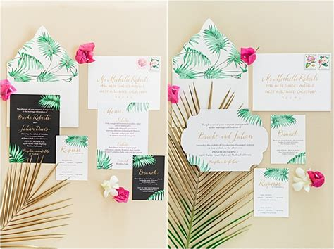 Tropical Wedding Invitations by Tropical Wedding Invitations In The Press Gourmet