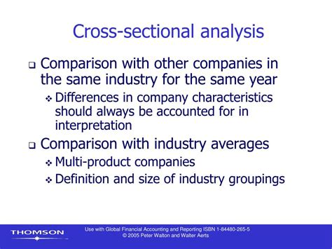 cross sectional ratio analysis is used to ppt chapter 9 financial statement analysis i powerpoint