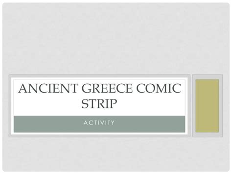 ppt ancient greece comic strip powerpoint presentation