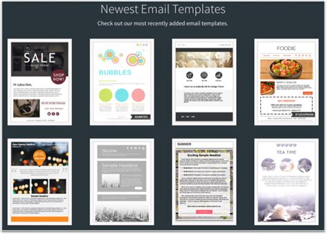 email templates mailchimp 12 best real estate newsletter template resources placester