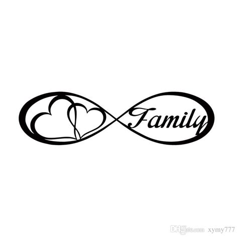 family with infinity symbol 2018 for family infinity forever symbol car