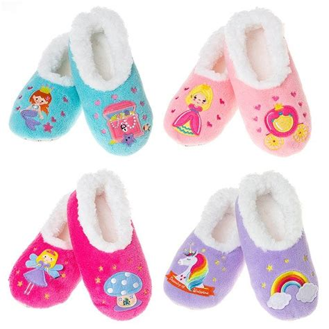 snoozie slippers children s tale soft snoozie slippers size