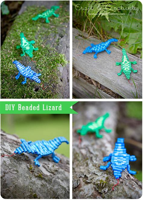 beaded lizard craft beaded lizard craft ideas