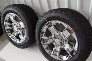 Stock 20 Wheels Chevy Truck Chevy 20 Inch Ltz Wheels Oem Chrome Dealer Take
