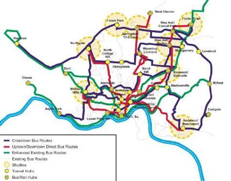citylink uptown cincinnati s rail bus plan