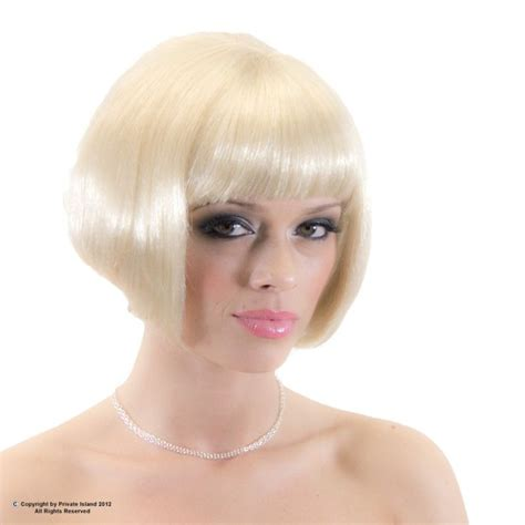 blonde bob halloween costumes blonde bob wig short wig costume supermodel 6043 blonde