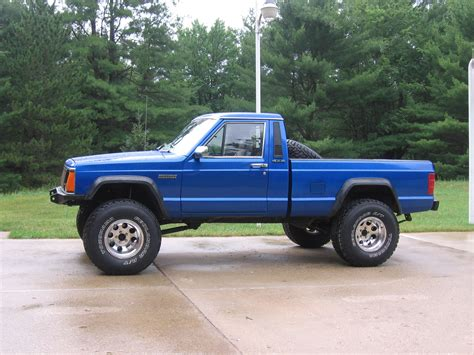 jeep comanche blue budsride 1988 jeep comanche regular cab specs photos