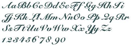 tattoo fonts elegant cursive font free truetype wanted ink