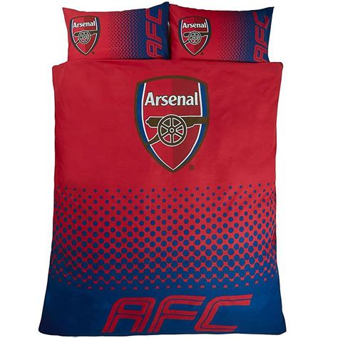 arsenal direct arsenal fade double duvet set ideal for kids by person
