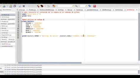 convertir una cadena a variable y imprimir a color en - Imprimir Cadenas En Python