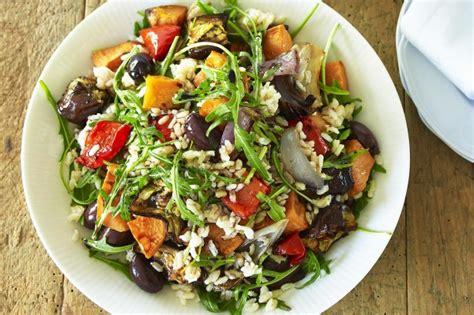 How To Cook Root Vegetables In Oven - roast vegetable rice salad recipe taste com au