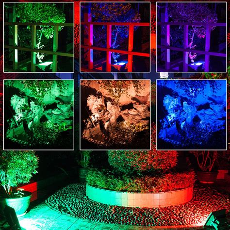spot hotel 65 warmoon outdoor led flood light 10w rgb color changing waterproof security