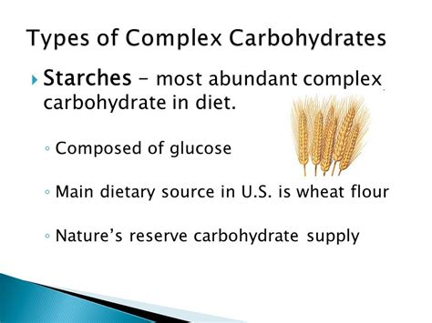 chapter 9 carbohydrates chapter 9 the complex carbohydrates ppt