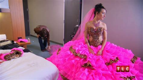 Mellie's Wedding Dress   Gypsy Sisters   YouTube