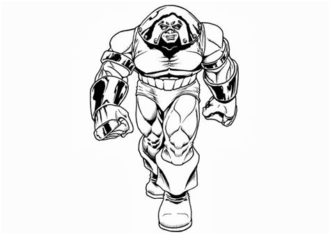 juggernaut coloring pages free coloring pages and