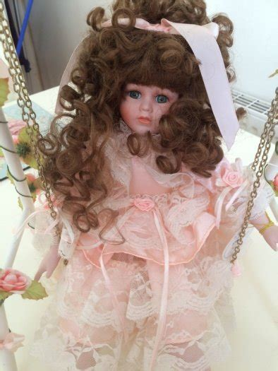 porcelain doll on swing porcelain doll on swing for sale in athy kildare from