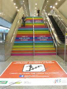 Stairs For Fitness by I Want To Climb The Stairs To Fitness Nudge