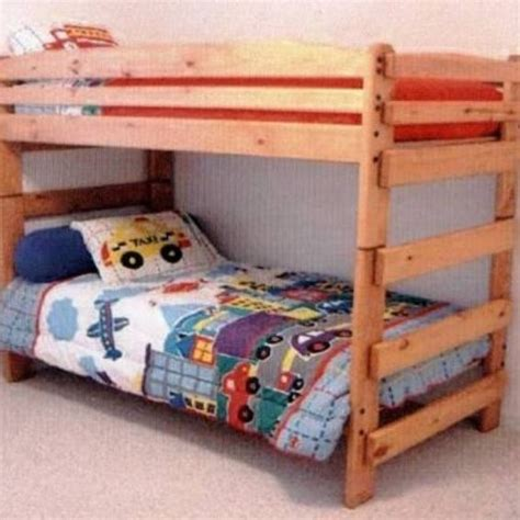 paul bunyan bed hand made paul bunyan stackable twin twin bunk bed by