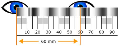 printable pupillary distance ruler zenni optical