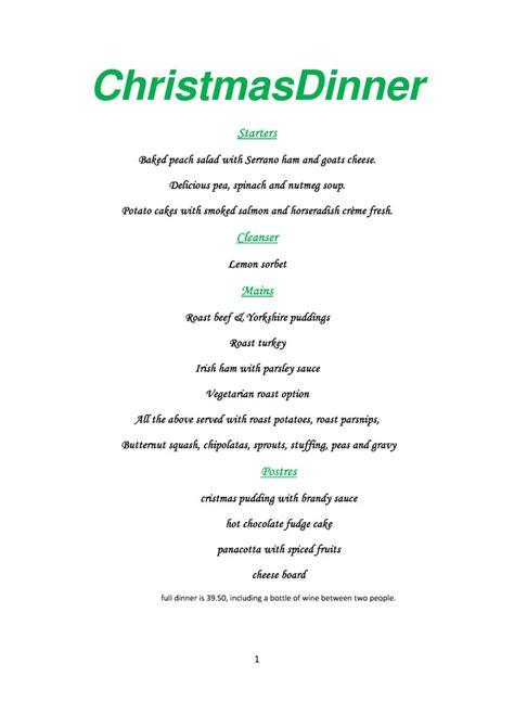 numero seis nerja christmas day menu mynerja nerja