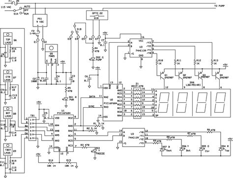 solar water heater circuit diagram build a solar thermal water heater controller nuts
