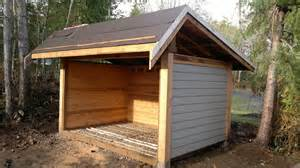 on building the ulimate wood shed in 0mins