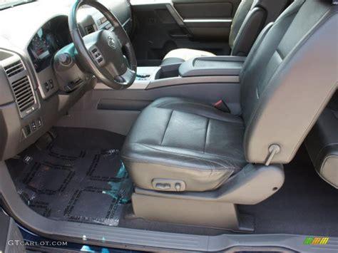 2006 Nissan Titan Interior by Graphite Titanium Interior 2006 Nissan Titan Le King Cab