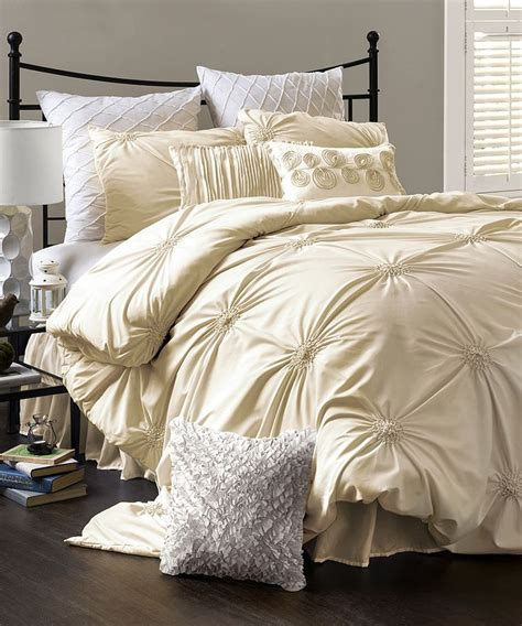 i like this ivory comforter set too for the home