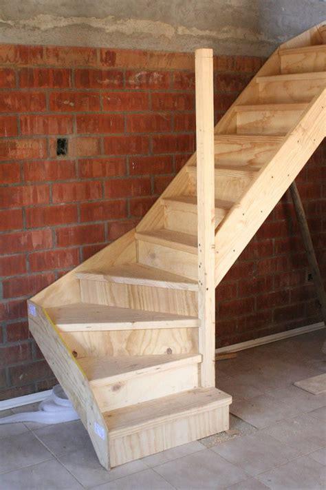 como hacer una escalera de canas construir escalera de madera puente alto regi 243 n
