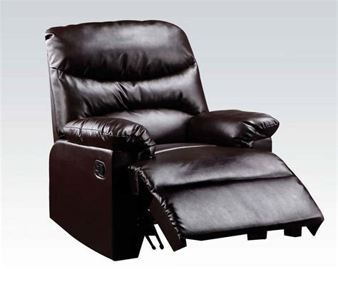 bonded leather chair cracking acme furniture arcadia cracked brown bonded leather glider