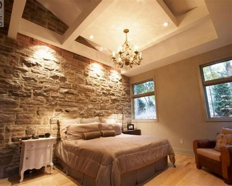 Relaxing Bathroom Decorating Ideas by 15 Natural Bedrooms With Stacked Stone Wall Rilane
