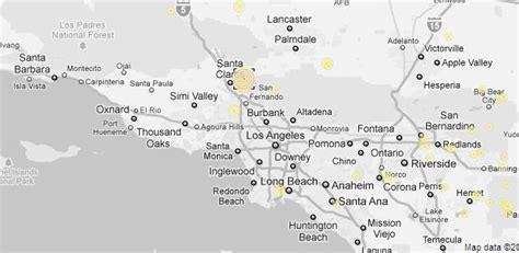 Los Angeles Earthquake Map by Prima Dell Ascensione L A Earthquake 4 2 Magnitude