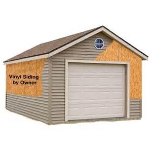 home depot garage best barns greenbriar 12 ft x 20 ft prepped for vinyl