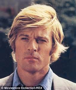 when did robert redford get hair robert redford sports two toned hair through sydney