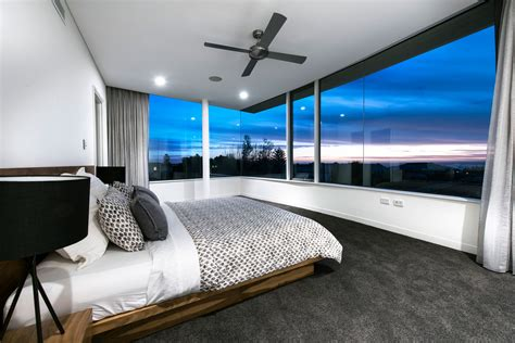 beach master bedroom australian residence merges exquisite design and breathtaking views