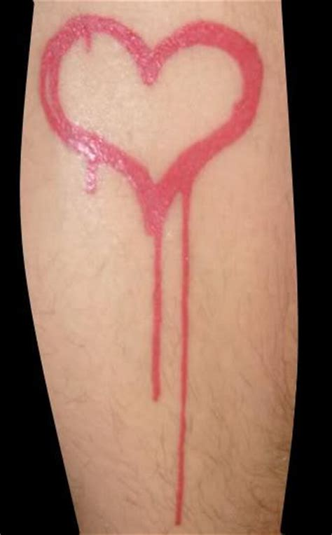 bleeding heart tattoo bleeding designs pictures images photos