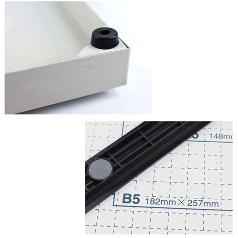 Paper Cutter Novus B4 adjustment paper cutter base b4 15 quot x 12 quot guillotine blade metal for office new ebay