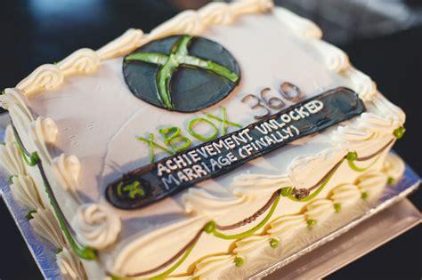 Wedding Cake Xbox by A Personalized Wedding The Gate