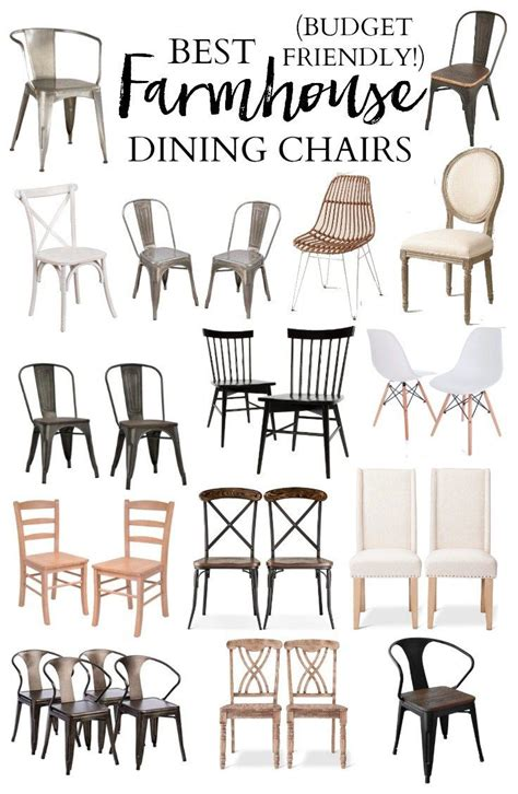 farmhouse chairs 25 best ideas about farmhouse table chairs on