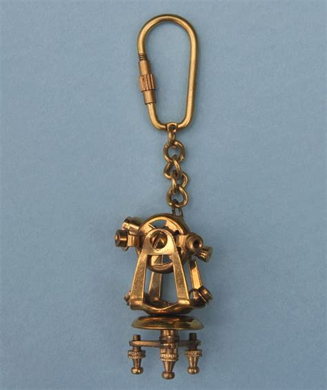 sextant keychain the antique sextant key chain