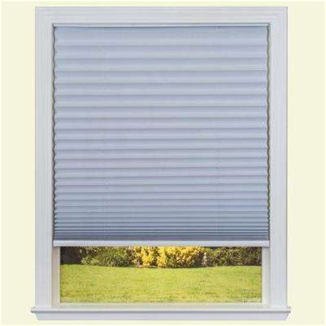 Pleated Shades White Pleated Shades Shades The Home Depot