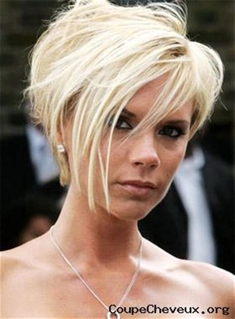 fun short hairstyles 2014 victoria beckham blonde coupe cheveux org