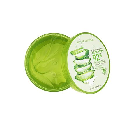 Nature Republic Aloe Vera Soothing Gel Review Acne nature republic aloe vera 92 soothing gel korean