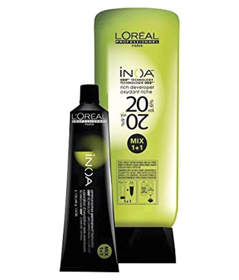 l oreal majirel no 4 3 permanent hair color brown golden reflect 50 ml pack of 3 buy l oreal l oreal inoa no 5 3 with 6 20vol inoa deeveloper permanent hair color brown light golden 60 gm