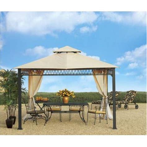 Patio Gazebo Replacement Covers Sunjoy Havenbury Gazebo Replacement Canopy Cover Garden Patio Shopz S