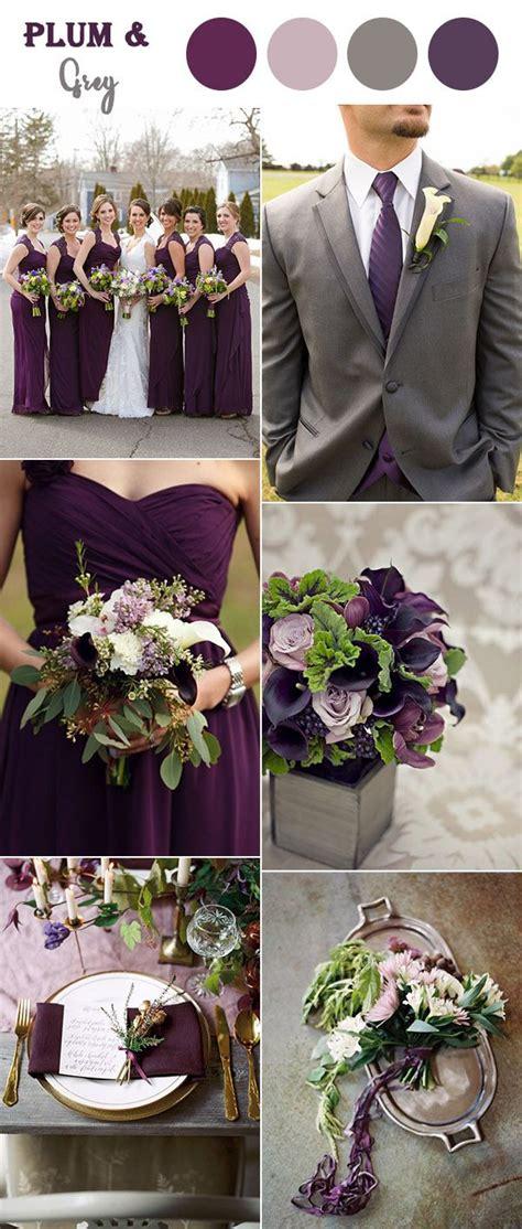 the 10 fall wedding color combos to wedding colors wedding winter wedding