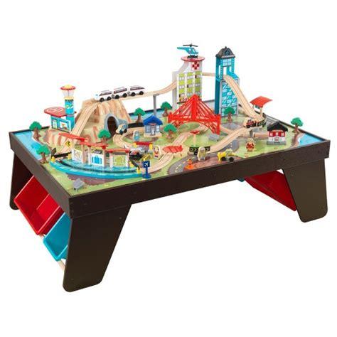 kidkraft table set kidkraft aero city set and table target